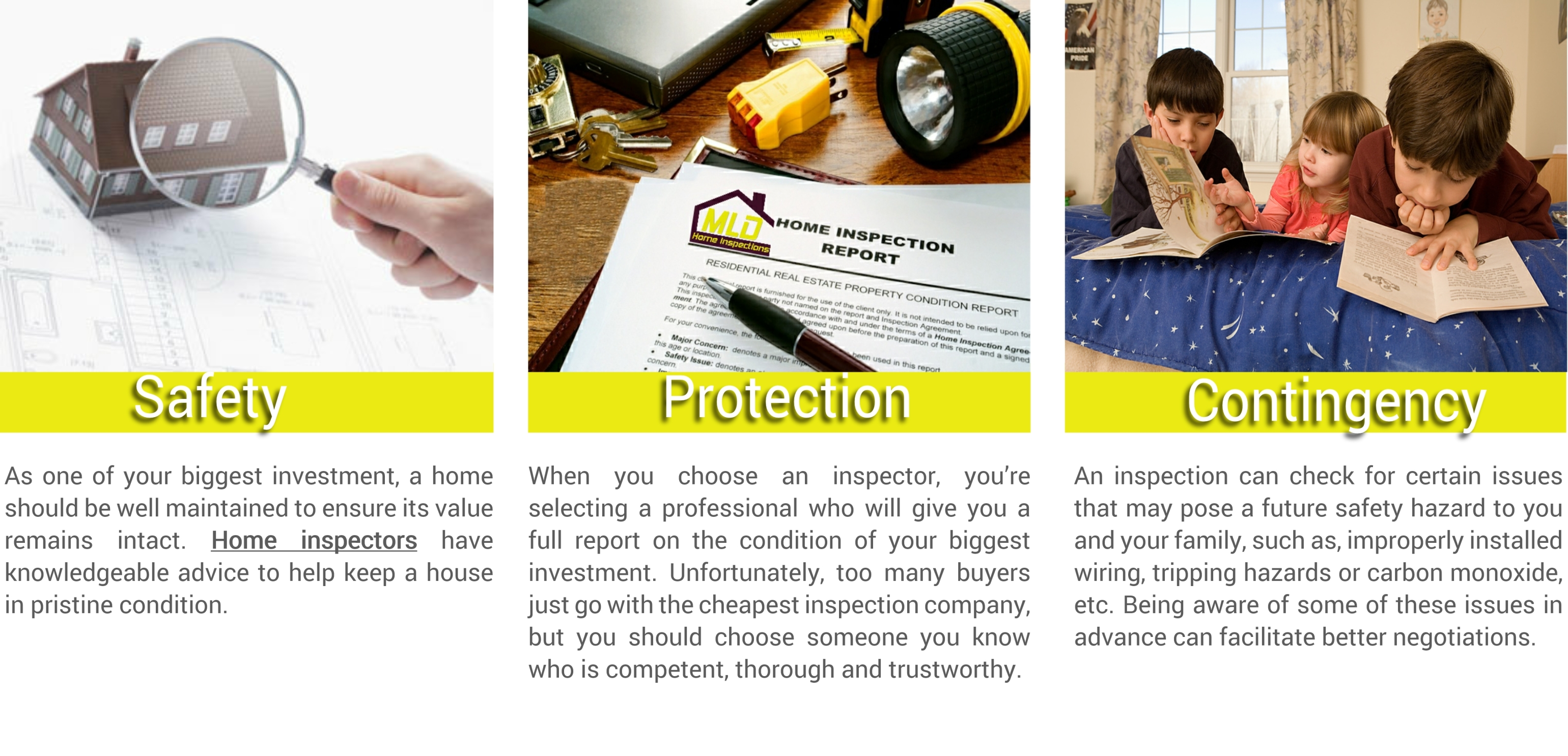 Mld home inspections 516 902 8793 serving all counties in ny state - Reasons always schedule regular home inspection ...